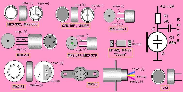 Распайка выводов электретных